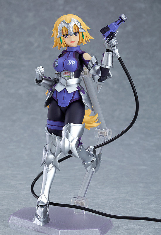 Figma SP-133 GOODSMILE RACING & TYPE-MOON RACING - Jeanne d'Arc: Racing ver. Main pose