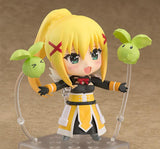 Nendoroid 758 KONO SUBARASHII SEKAI NI SYUKUFUKU WO! 2 - Darkness front right side pose with flying cabbage