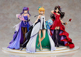Scale Figure 1/7 Saber ~15th Celebration Dress Ver.~ with Sakura and rin pose