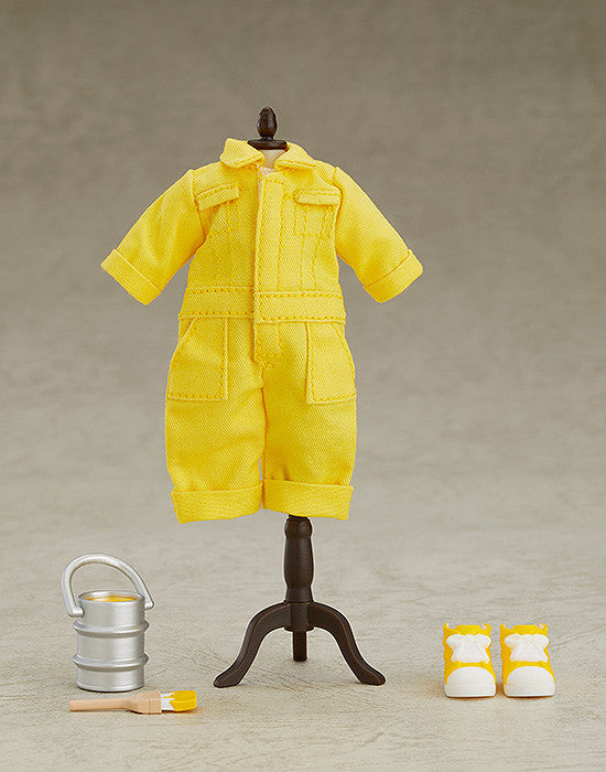 Nendoroid Doll: Outfit Set (Colorful Coveralls - Yellow)