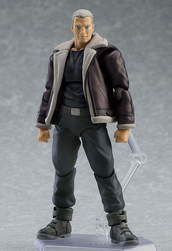 Figma 482 GHOST IN THE SHELL STAND ALONE COMPLEX - Batou: S.A.C.ver. main pose