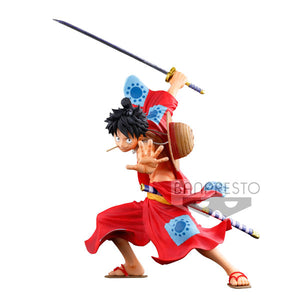 Banpresto - World Figure Colosseum Vol 3 - Super Master Stars Piece Monkey D Luffy main pose