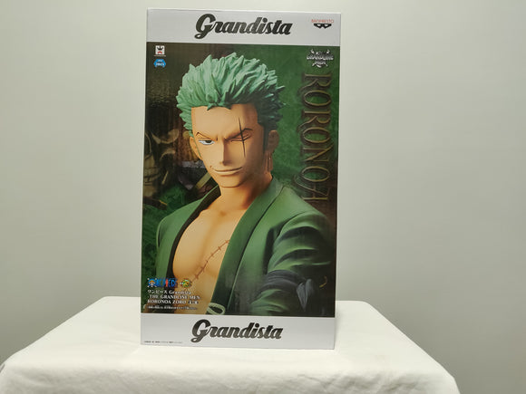 Banpresto Grandista One Piece The Grandline Men Roronoa Zoro front of box
