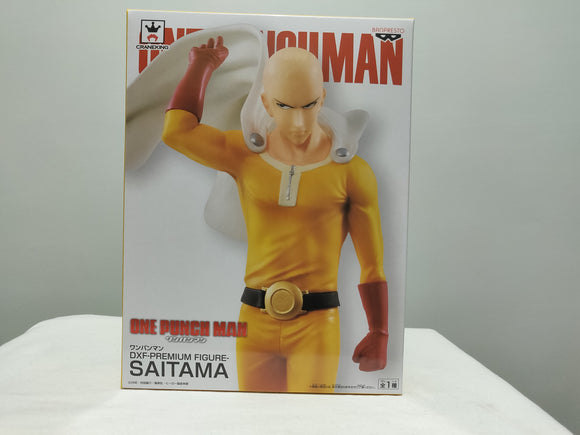 Banpresto DFX One Punch Man - Saitama front of box