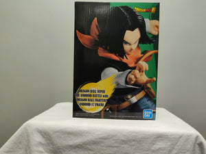 Banpresto Dragon Ball Android Battle Android 17 front of box