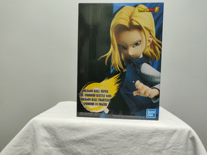 Banpresto Dragon Ball Android Battle Android 18 front of box