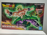 Bandai Figure-rise Dragon Ball SSJ Broly Full Power top of box
