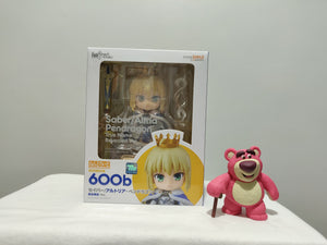 Nendoroid 600b Fate / Grand Order - Saber / Altria Pendragon : True Name Revealed ver. front of the box