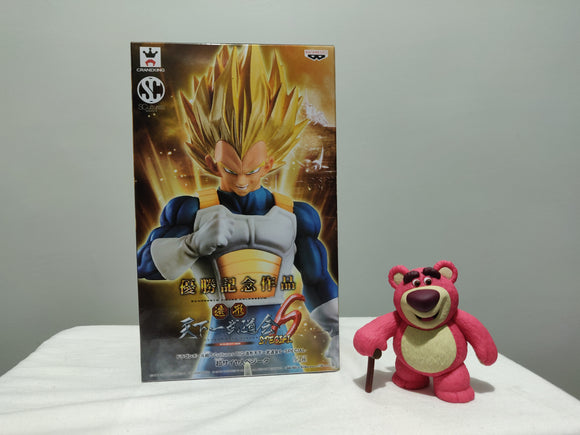 Banpresto Dragon Ball Super Sculture Vol 6 - SSJ3 Vegeta front of the box