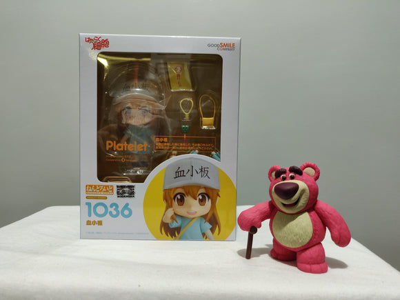Nendoroid 1036 Cells at Work! - Platelet front of the box