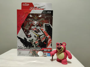 Bandai Gundam Universe RX-0 Unicorn Gundam front of the box