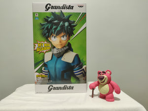 Banpresto Grandista My Hero Academia - Izuku Midoriya front of the box