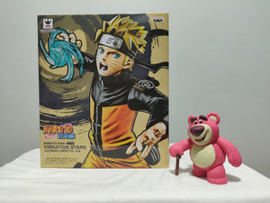Banpresto - Naruto Shippuden Vibration Stars Uzumaki Naruto front of the box