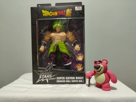 Bandai - Dragon Ball Stars SSJ Broly front of the box