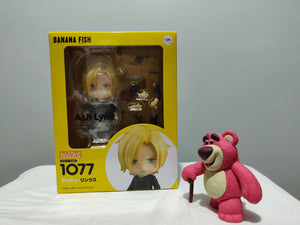 Nendoroid 1077 BANANA FISH - Ash Lynx front of the box