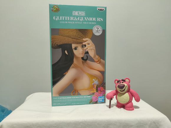 Banpresto Glitter and Glamour One Piece - Nico Robin ver B front of the box