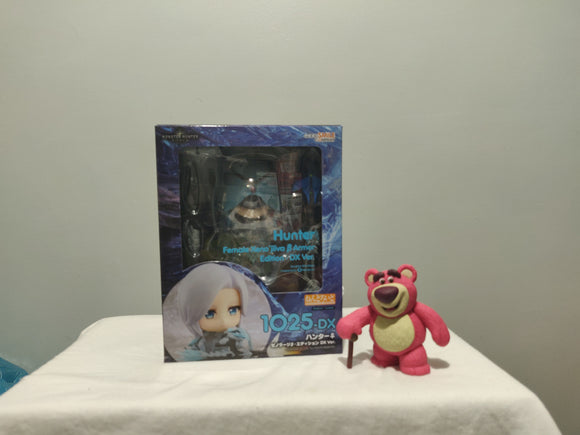 Nendoroid 1025-DX MONSTER HUNTER: WORLD - Nendoroid Hunter: Female Xeno'jiiva Beta Armor Edition DX Ver. front of the box