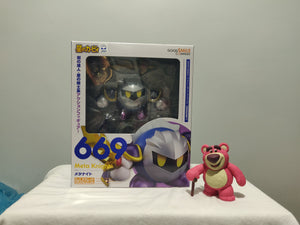 Nendoroid 669 Kirby - Meta Knight front of the box