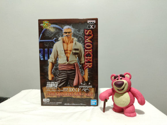 Banpresto DFX The Grandline Men One Piece Stampede Vol 3 - Smoker front of the box