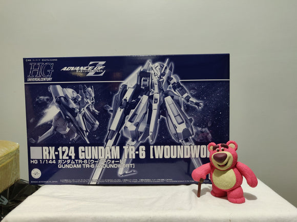 Bandai - HG 1/144 TX-124 Gundam TR-6 Woundwort top of the box