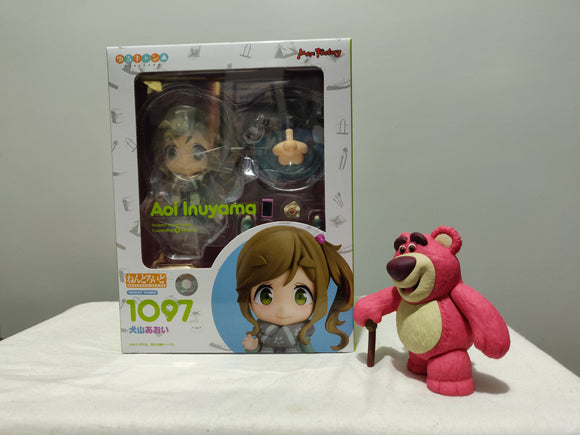 Nendoroid 1097 Laid-Back Camp - Aoi Inuyama front of the box