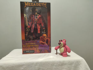 NECA - Megadeth Vic Rattlehead front of the box