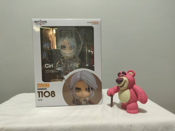 Nendoroid 1108 The Witcher 3: Wild Hunt - Ciri front of the box