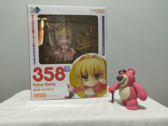 Nendoroid 358 Fate/EXTRA - Saber Extra front of the box