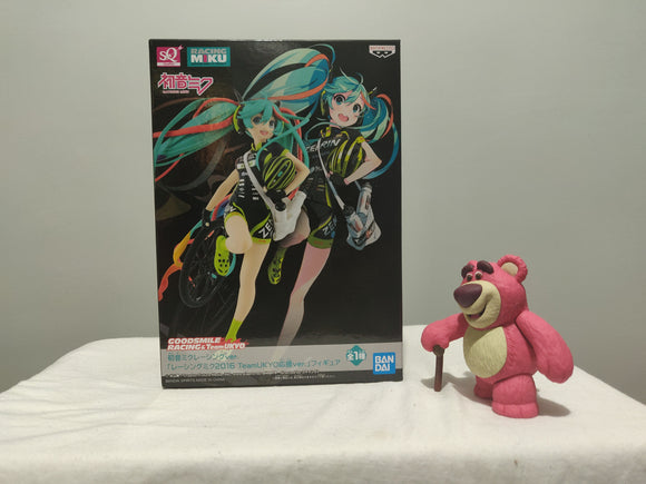 Banpresto - SQ Hatsune Miku GT Project 2016 Team Ukyo front of the box