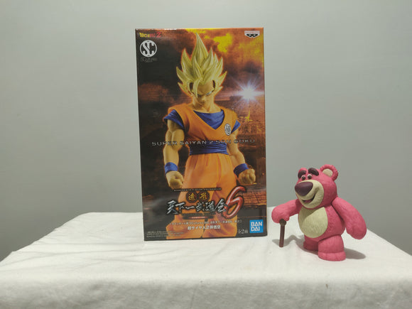 Banpresto Dragon Ball Sculture Vol 6 - SSJ2 Goku front of the box