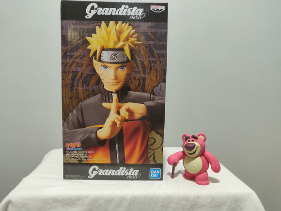 Banpresto Grandista Naruto Shippuden - Nero Naruto front of the box