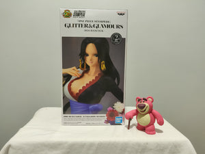 Banpresto Glitter and Glamour One Piece - Boa Hancock ver A front of the box