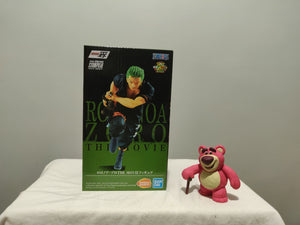 Banpresto Ichibansho - One Piece Stampede - Roronoa Zoro front of the box