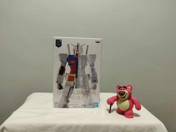 Banpresto Mobile Suit Gundam Internal Structure - RX-78-2 A front of the box