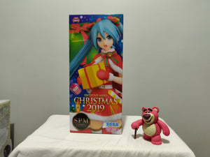 Sega SPM Hatsune Miku Christmas 2019 ver front of the box
