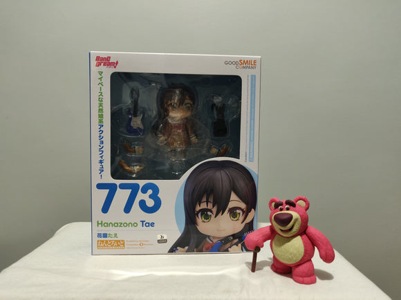 Nendoroid 773 Bang Dream! - Tae Hanazono front of the box
