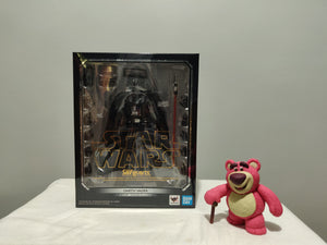 Bandai S.H. Figuarts Star Wars Return of the Jedi - Darth Vader front of the box
