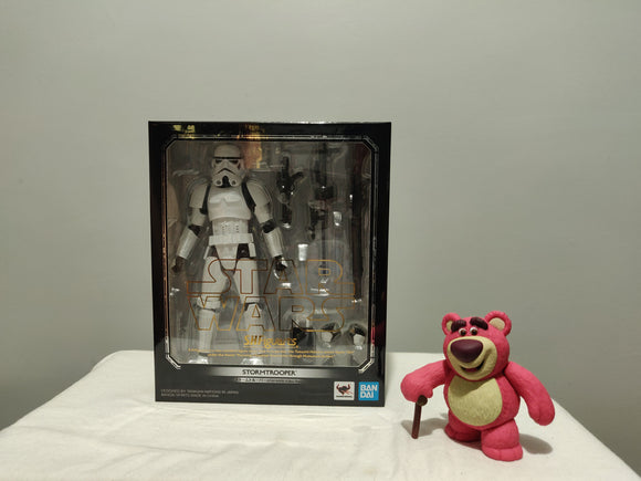 Bandai S.H. Figuarts Star Wars New Hope - Storm Trooper front of the box