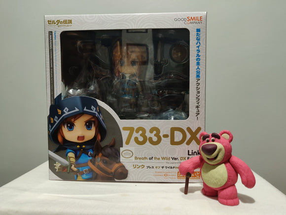 Nendoroid 733-DX The Legend of Zelda: Breath of the Wild - Link DX Edition (3rd Release) front of the box