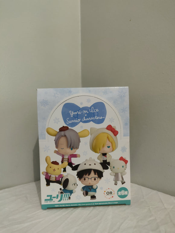 Collectible / Trading YURI!!! On ICE x Sanrio Characters