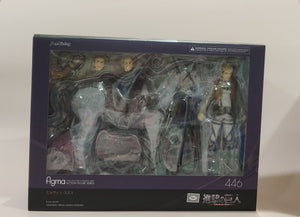 Figma 446 Attack on Titan - Erwin Smith front of the box