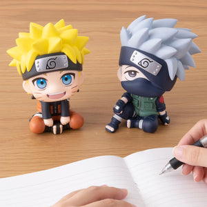 Megahouse Lookup Series Naruto - Uzumaki Naruto and Hatake Kakashi Set main pose