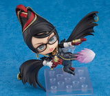 Nendoroid 1485 Bayonetta -  Bayonetta front right attacking kick pose