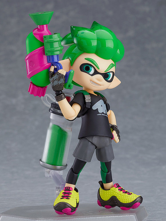 figma 462-DX Splatoon/Splatoon 2 - Splatoon Boy: DX Edition