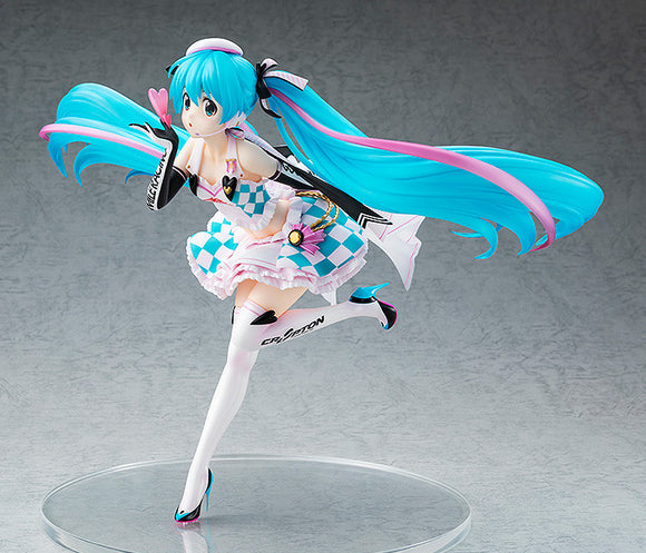 Scale Figure 1/7 - Racing Miku 2019 Ver. Side Key Visual main pose