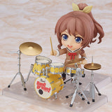 Nendoroid 787 BanG Dream! - Saya Yamabuki front left pose with drum set