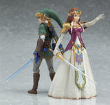 figma 319 The Legend of Zelda: Twilight Princess - Link: Twilight Princess ver. With zelda pose