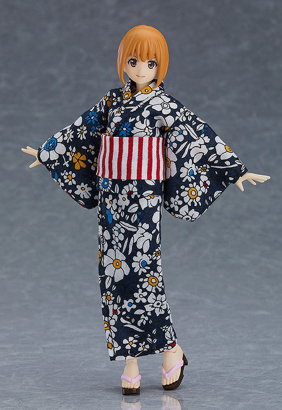 Figma 473 figma Sytles - figma Female Body (Emily) with Yukata Outfit main pose