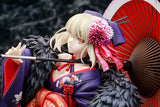 Scale Figure 1/7 Fate/stay night: Heaven's Feel - Saber Alter: Kimono Ver. Front right close up pose