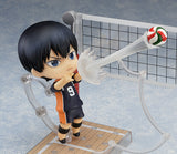 Nendoroid 489 Haikyu!! - Tobio Kageyama front right playing volleyball pose